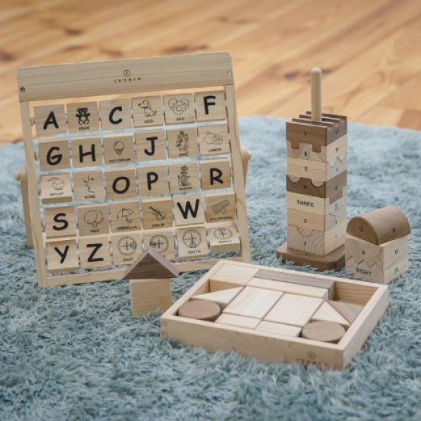 画像1: 木のおもちゃ 知育セット EDUCATIONAL SET (1)