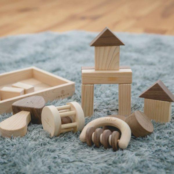 画像1: 木のおもちゃ ベビーセット BABY SET (1)